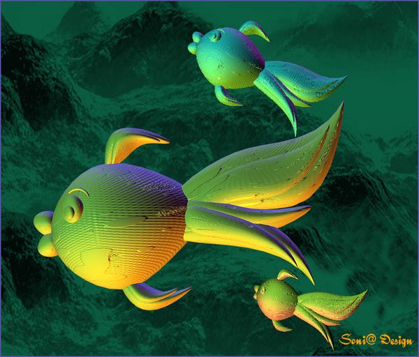 3d  vissen