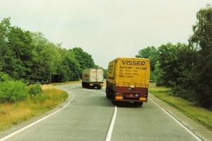 Bij de Poolse grens in de DDR 1989