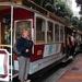 met de traditionele tram door S.F.