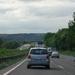 De heenreis  nog in Duitsland