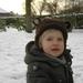 Warre in de sneeuw