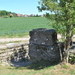 MG stelling langs oude spoorwegbedding Ieper-Roeselare