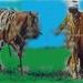 eenzame cowboy ver van huis