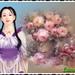 japans bloemenmeisje