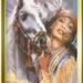 sqauw met paard