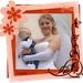 bruid met kind
