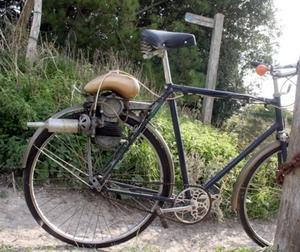 bsa. fiets-power-pak 1950
