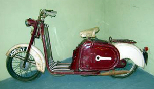 Mercury Hermes scooter 1958