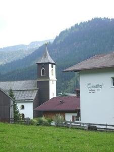 Het kerkje van Zöblen