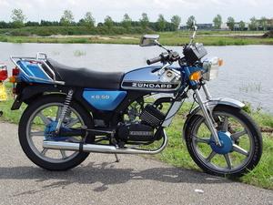 Zündapp KS50 met 80cc blok