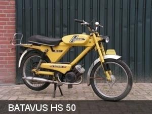 Batavus HS 50-geel 1976