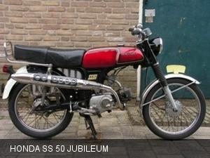 Honda SS 50 Jubileum 1981