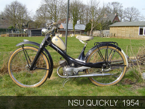 NSU. Quickly 1954