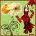 Lady en red