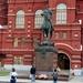 Moskou - standbeeld maarschalk Joukov (historisch museum)