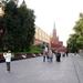 Alexandertuin - op weg ingang Kremlin