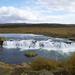 kleinere waterval in ijsland