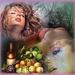 vrouwen en fruit