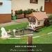 Een miniatuur Schwarzwaldhuisje