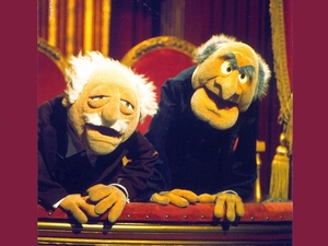 Muppets Balkon