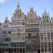 Antwerpen  de Grote markt, Gildehuizen