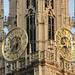Antwerpen  OLV kathedraal, Uurwerk op de torenzijde