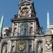 Antwerpen  Stadhuis,  detail voorgevel