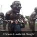 Chinees kunstwerk \'laugh\'