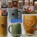 Verzameling bierpotten-Collection chopes