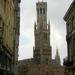 Onze eerste zicht van het Belfort van Brugge