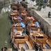 1b Zhoushuang kanaal en boten