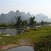 2 Yangshuo_ karstformaties bij de Yulong- rivier 2