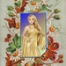 template met blondje