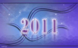 2011 paars