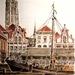 oude vismarkt Mechelen (jaren 30)