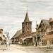 dorpsplaats in Keerbergen (jaren 40-50)