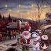 sneeuwmanmuzikanten