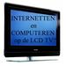 COMPUTER  of  LAPTOP aansluiten op LCD - TV
