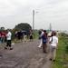 Stuwmeer voor irrigatie rijstvelden