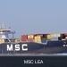 MSC LEA bij Walsoorden.