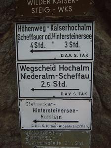 De weg naar Kufstein