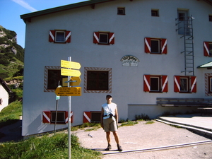 Stripsenjochhaus 1577 m