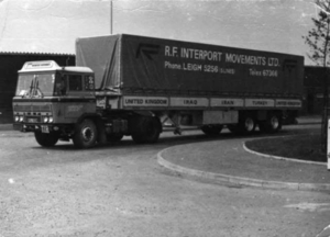 DAF-2600  R.F INTERPORT MOVEMENTS L.T.D