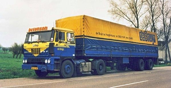 DAF2800 de.BRUIJN HOOGBLOKLAND