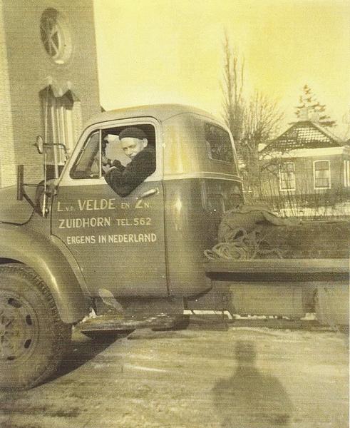 Trekker omgebouwd naar  truck