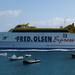 Snelle boot  naar Fuertaventura= 14 km