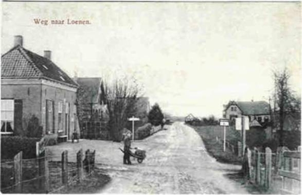 Weg naar Loenen