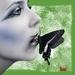 kus van een vlinder