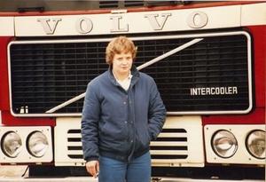 Agnes v.d. Laan in 1982