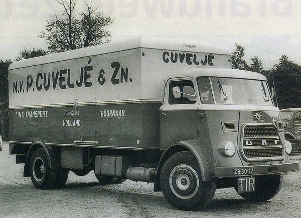 DAF-1900 n.v.P.CUVLJE & ZN. HOORNAAR (NL)